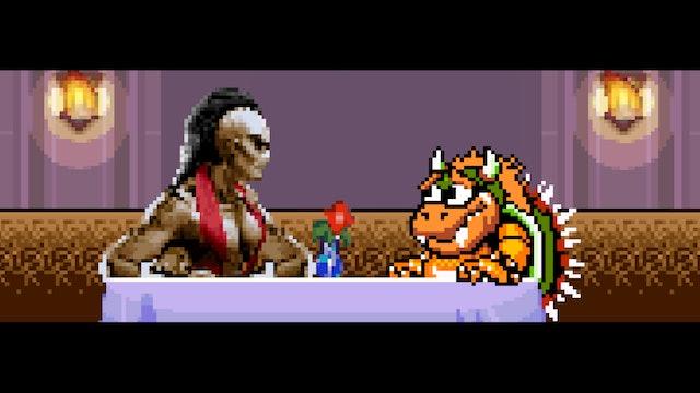 If Bowser Dated Sheeva from Mortal Kombat