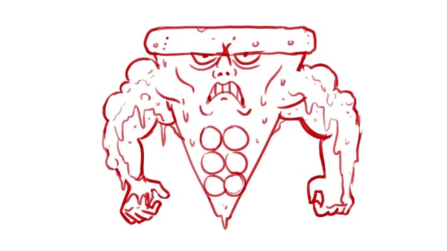 Morning Drawfee - Ripped Pizza