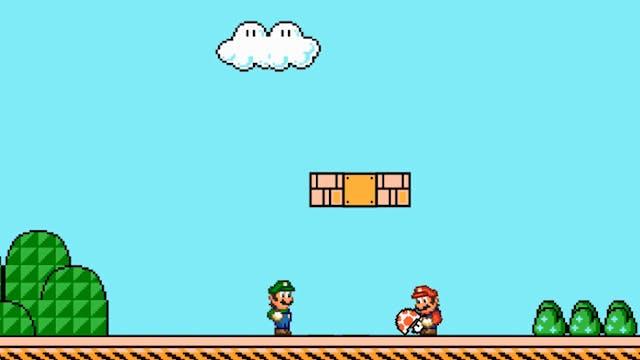 the Mario Bros. Go Halfsies