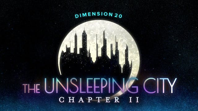 The Unsleeping City: Chapter II Trailer