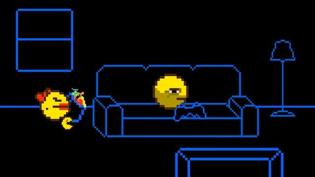 Pac-Man Plays Skyrim