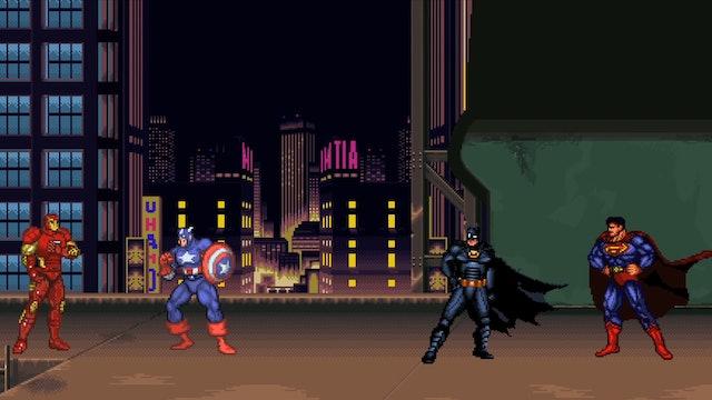 Batman v. Superman v. Iron Man v. Captain America: Dawn of Civil War