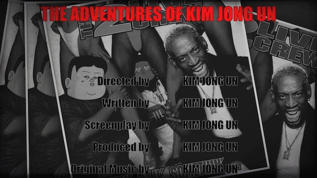 Kim Jong Un and Dennis Rodman Recreate Space Jam