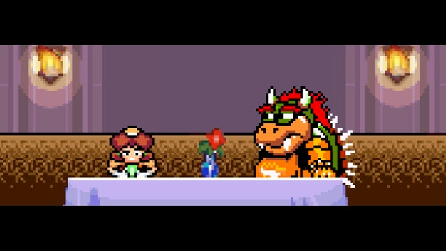 If Bowser Dated Daisy