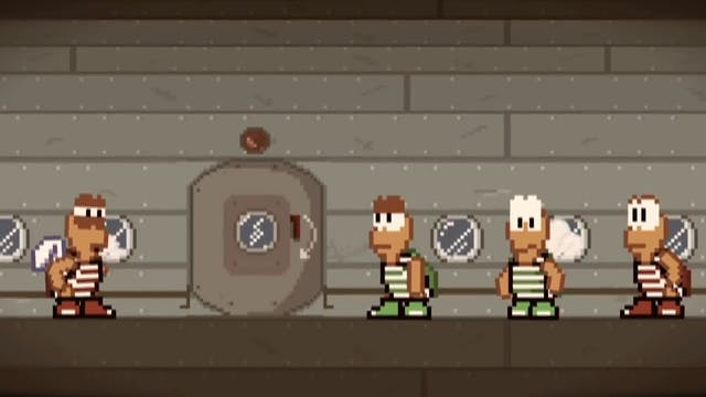 Band of Brothers Super Mario-Style
