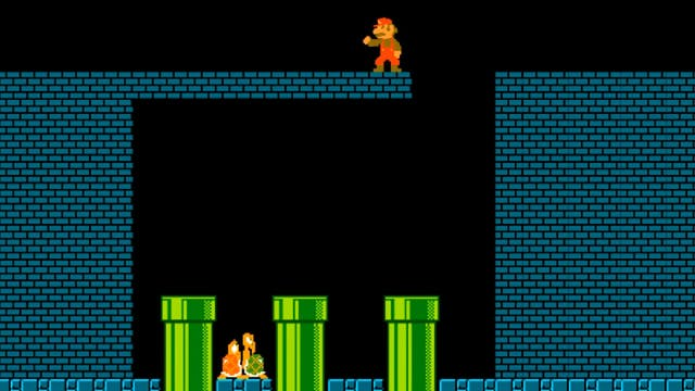 Mario's Horrifying Discovery