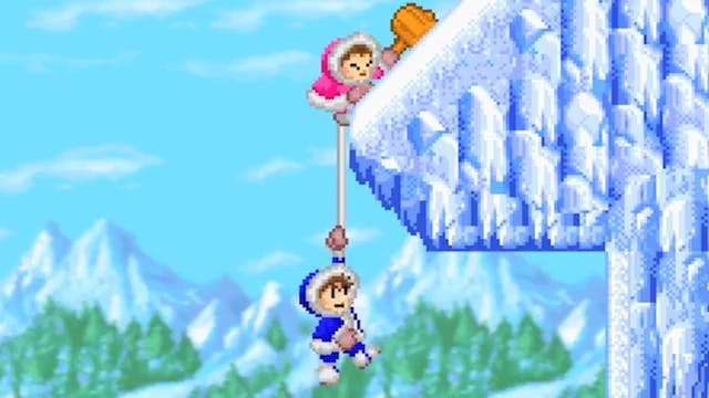 Ice Climbers Cliffhanger