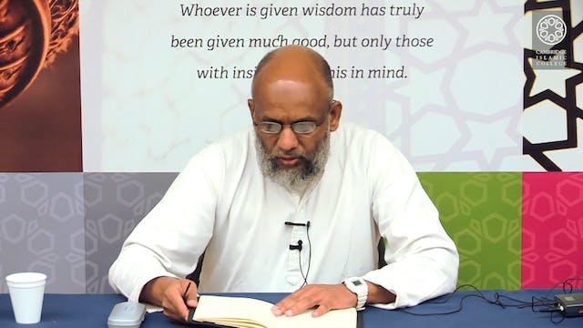 Sahih Al Bukhari Day2 Part3