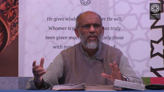Surah Al Imran Class 2.5