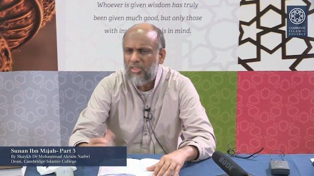 Sunan Ibn Mājah Part3
