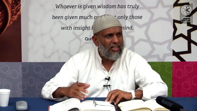 Kitab al-Risāla fī Uṣūl al-Fiqh_Day1_Part4