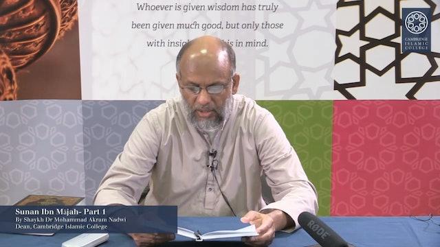 Sunan Ibn Mājah Part1