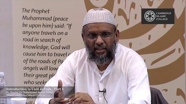 Usul-al-Fiqh Part3