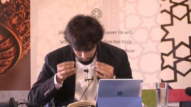 Surah Yusuf Dr Tareq Moqbel Class01
