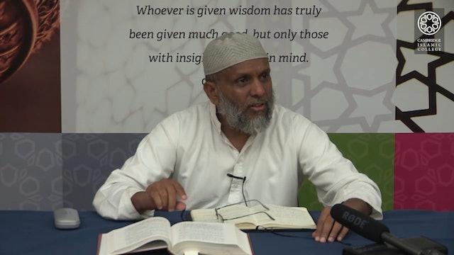 Kitab al-Risāla fī Uṣūl al-Fiqh_Day2_Part3