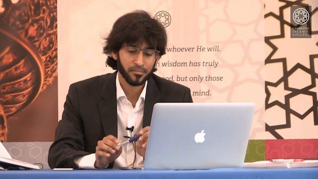 Surah Yusuf_Dr Tareq Moqbel_Class13