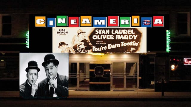 "Laurel & Hardy ""You're Darn Tootin"" (1928)"