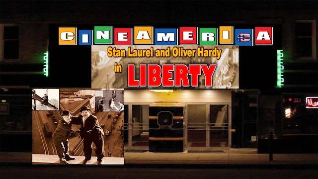 """Laurel & Hardy  """"Liberty"""" (1929)"""