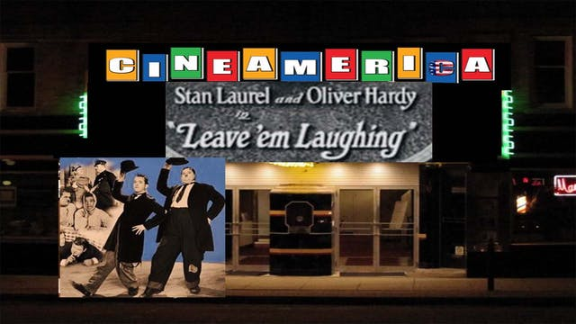 "Laurel & Hardy ""Leave Em Laughing"" (1928)"