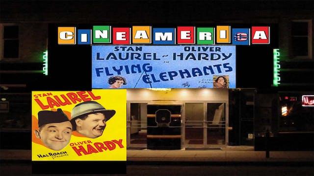 """Laurel & Hardy """"Flying Elephants"""" (1928)"""