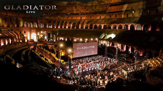 Gladiator Live in Rome to End Polio Now
