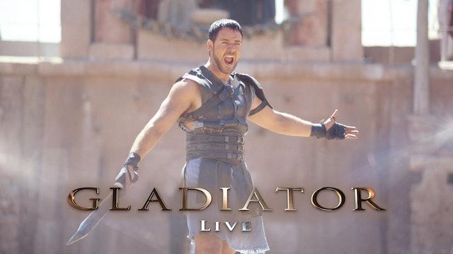 Gladiator Live (Trailer + Extras)
