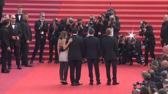 Once Upon A Time In Hollywood At The 72nd Annual Cannes Film Festival - Quentin Tarantino, David Heyman, Shannon McIntosh, Leonardo DiCaprio, Brad Pitt, Margot Robbie, Al Pacino