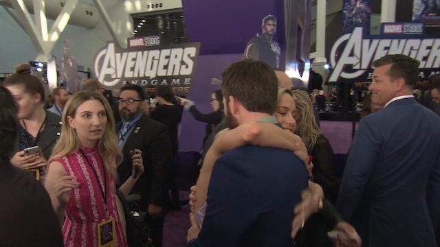 Avengers Endgame World Premiere 2019 Cast Robert Downey Jr Brie