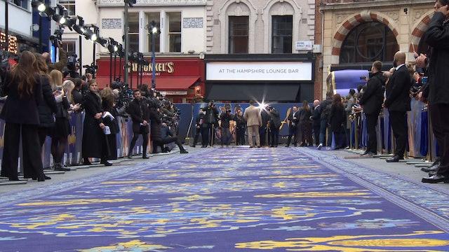 Aladdin Epic UK Gala Screening 2019 - Will Smith, Mena Massoud, Naomi Scott, Marwan Kenzari, Navid Negahban, Nasim Pedrad, Billy Magnussen, Guy Ritchie