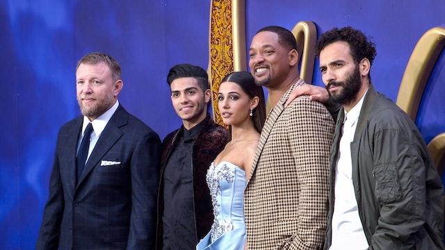 Aladdin Epic UK Gala Screening 2019 - Will Smith, Mena Massoud, Naomi Scott