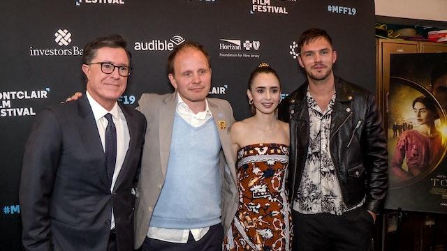 Tolkien Film Interview At Montclair Film Festival - Nicholas Hoult, Lily Collins