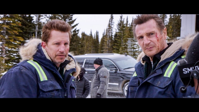 The Making Of Cold Pursuit Movie Behind The Scenes - Liam Neeson, Tom Bateman