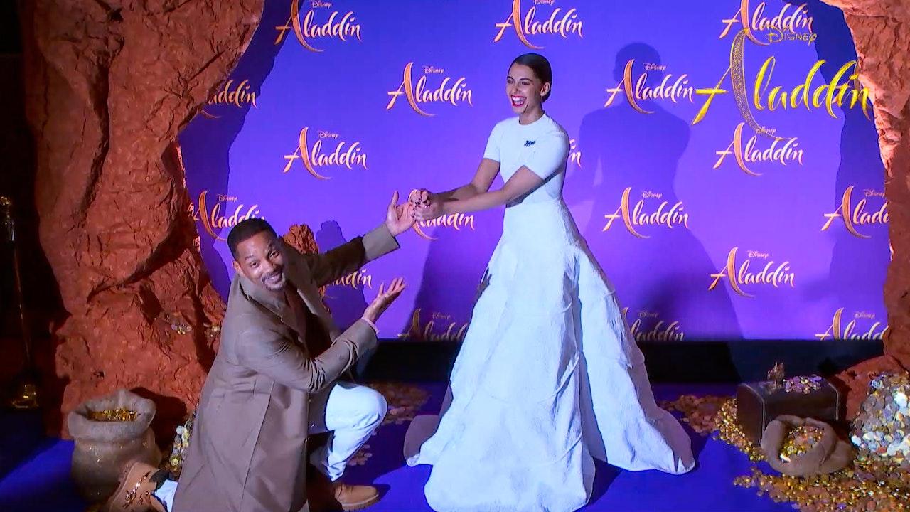 Aladdin Movie Global Press Tour 2019 - Starring Will Smith, Mena Massoud