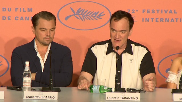 Once Upon A Time In Hollywood Cannes Film Festival Press Conference