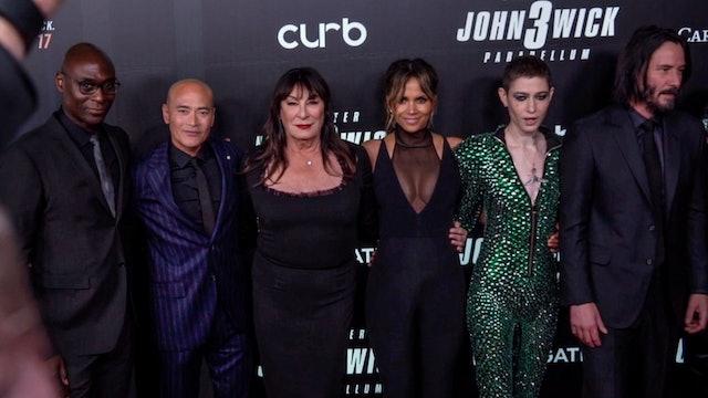John Wick 3 - Parabellum NY Screening - Keanu Reeves, Halle Berry