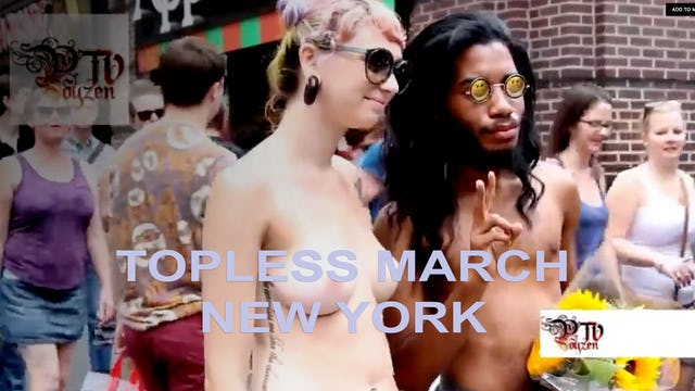 TOPLESS MARCH - NEW YORK