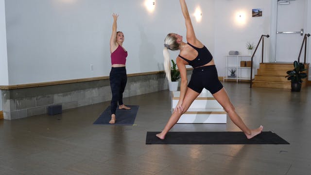 Vinyasa: Intuitive Expression with Casey