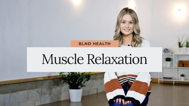 Progressive Muscle Relaxation with Le...