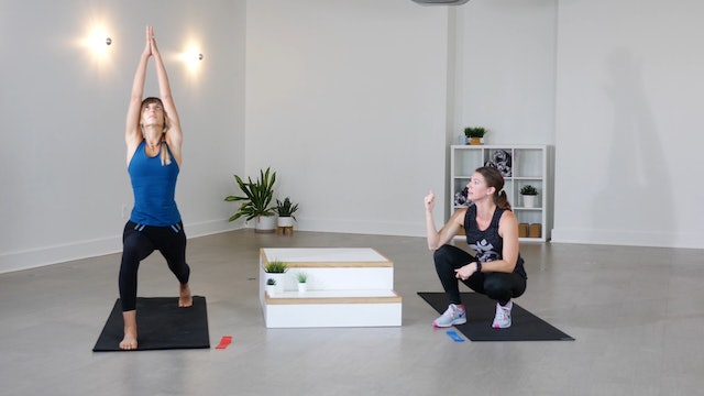 Yoga + Strength: HIIT + Resistance Bands with Amberlie