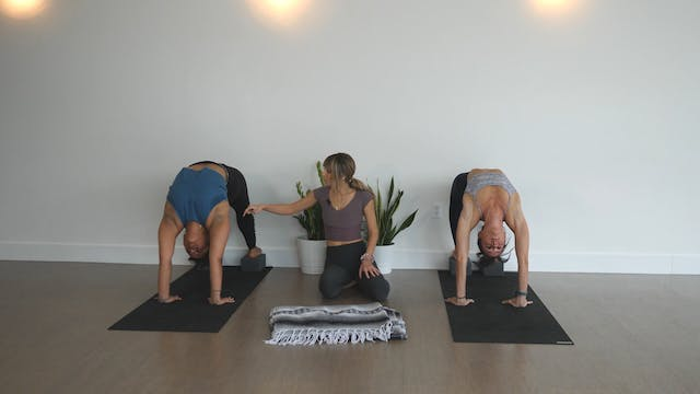 Blend: Backbends on the Wall with Kacee