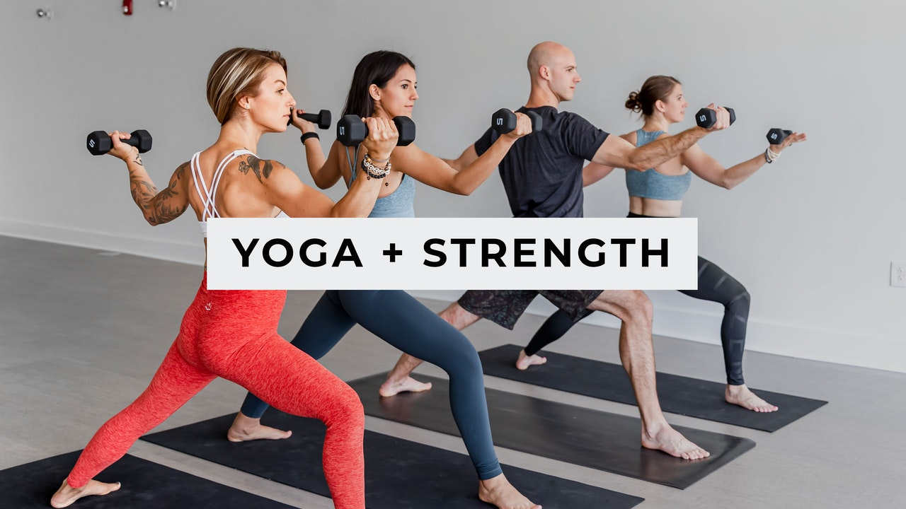 Yoga + Strength