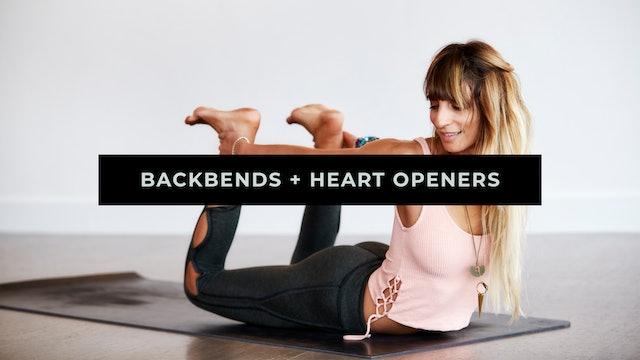 Backbends + Heart Openers