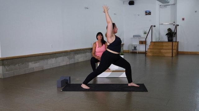 Standing Ashtanga Series with Cindy
