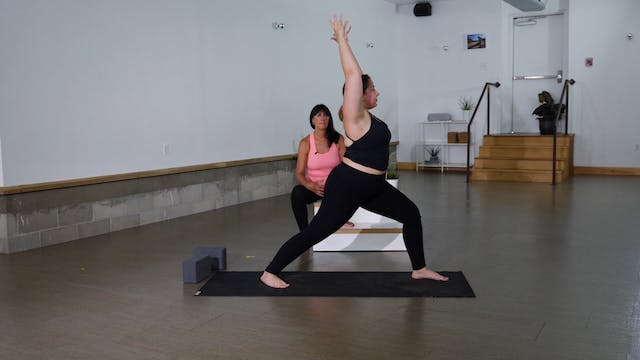 Standing Ashtanga Series with Cindy