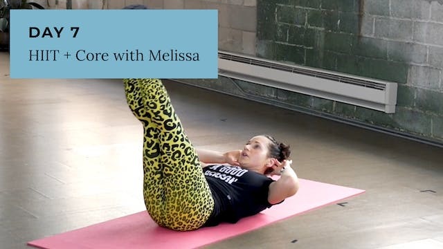 HIIT + Core with Melissa