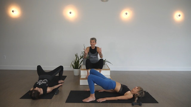 Strength: Pilates Style Butt Busters with Linda