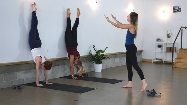 Pose Breakdown: 10 Minutes a Day to Handstand with Alice Day Three
