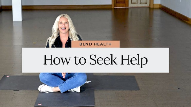 Seeking Help for an Eating Disorder with Brooke Buys MSW from BLND Health