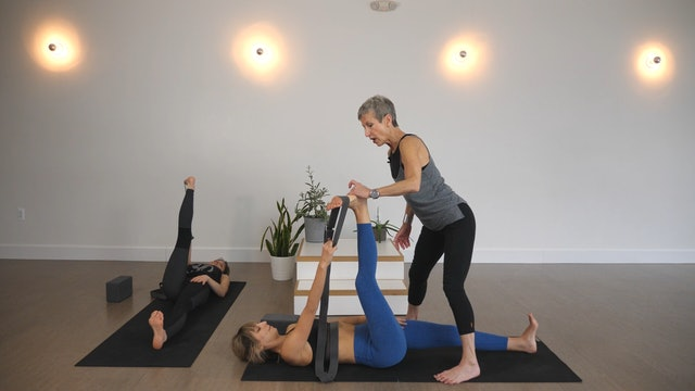 Strength: Repeat + Progressive Hip + Hamstring Openers with Linda