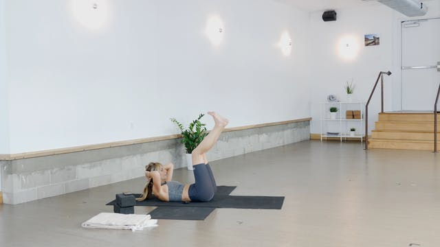 Strength: Core + Inner Thighs with Kacee